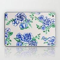 Vintage Floral Laptop & iPad Skin