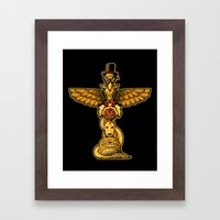Spirit Totem Framed Art Print
