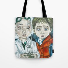 Back in the time Tote Bag