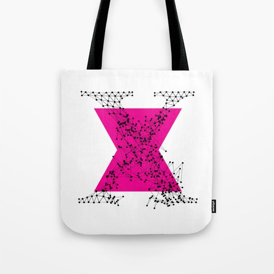 X (abstract geometrical type) Tote Bag