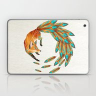 Fox Cercle Laptop & iPad Skin