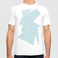 Ab Geo Salt Water Mens Fitted Tee White SMALL