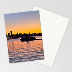 Vancouver Skyline Stationery Cards