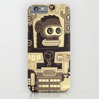 iPhone & iPod Case featuring Pop Monk vintage by Exit Man