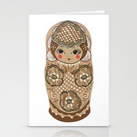 Matrushka Stationery Cards