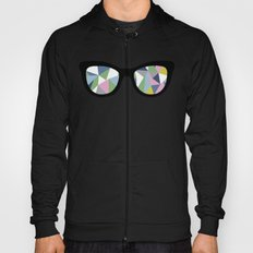 Abstract Eyes Hoody