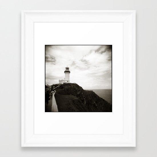 { light house } Framed Art Print