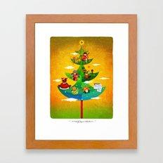 A Very Filipino Christmas Framed Art Print