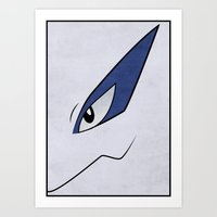 #249 Lugia - Legendary Pokemon Poster Art Print