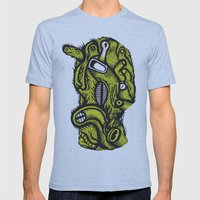 Irradié - the print Mens Fitted Tee Athletic Blue SMALL