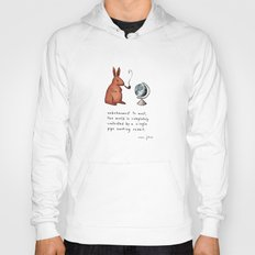 Pipe-smoking rabbit Hoody