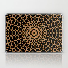 Mandala Fractal in Summer Fire Laptop & iPad Skin