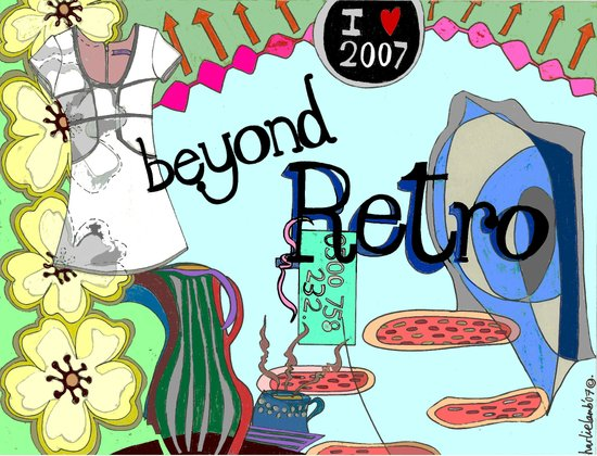 Beyond Retro Art Print