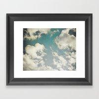 Clouds 026 Framed Art Print