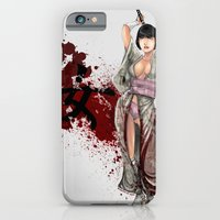 iPhone & iPod Case featuring Kunoichi 1 of 4 by Hexapus Ink