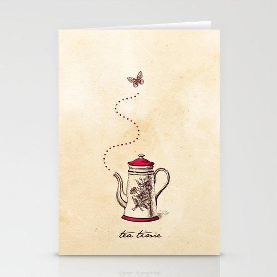 Tea time Stationery Card