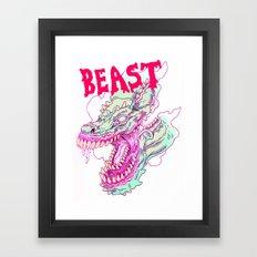 BOTTOMLESS BEAST Framed Art Print