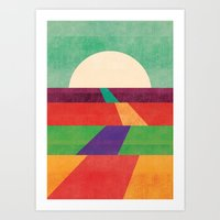 The Path Leads To Foreve… Art Print