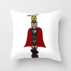 POP -TOTEM Throw Pillow