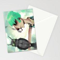 Punk N' A Bird Stationery Cards