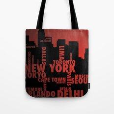 Cities Tote Bag