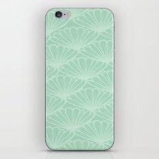Lady in Mint iPhone & iPod Skin