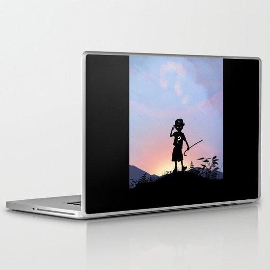 Riddler Kid Laptop & iPad Skin
