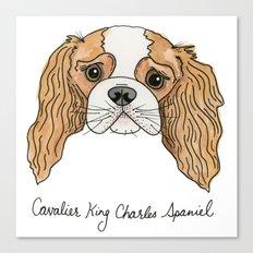 King Charleston Spaniel  Canvas Print