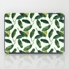 banana leaves iPad Case