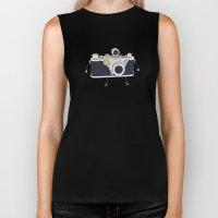 Old Skool Cam Biker Tank