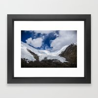 Glaciers of Tibet Framed Art Print
