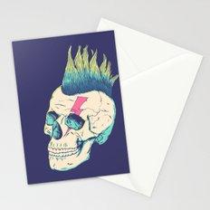 Skull Punk Stationery Cards