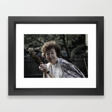 Gran Framed Art Print