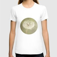Sweet Dandelions  Womens Fitted Tee White SMALL