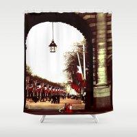 London - Flags Shower Curtain