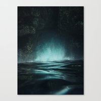 Surreal Sea Canvas Print