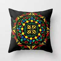 Dala 1 Throw Pillow
