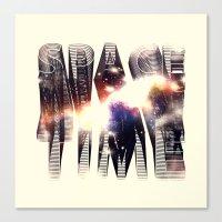 Spacetime Canvas Print