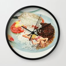 Toothpick Wall Clock