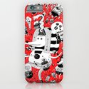 rot zeichentusche  iPhone & iPod Case