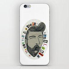 Bla bla bla... iPhone & iPod Skin