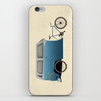 Camper Bike iPhone & iPod Skin