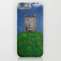 iPhone & iPod Case featuring House on a hill by Innershadow Photography