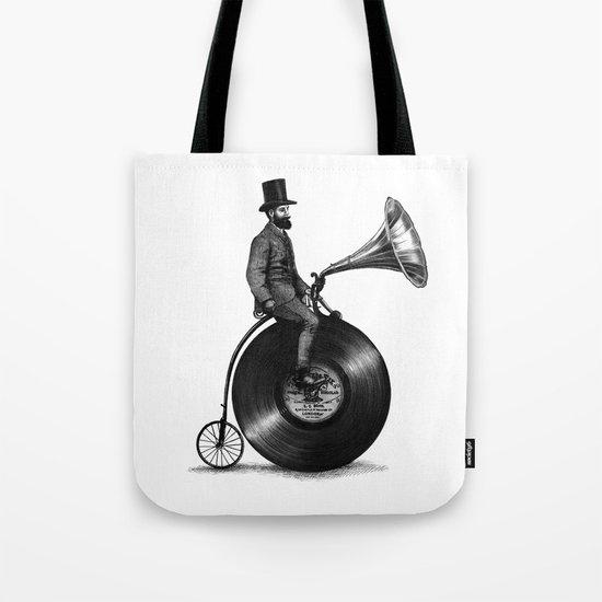 Music Man (monochrome option) Tote Bag