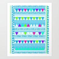 PLAYGROUND two ( p l a y f u l)  Art Print
