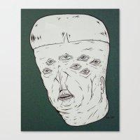 M.h.n.#2 Canvas Print