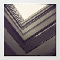 Square In Square In Squa… Canvas Print