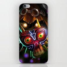 Majoras Mask iPhone & iPod Skin
