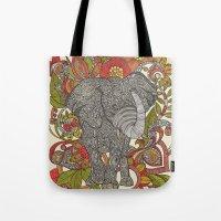 Bo The Elephant Tote Bag
