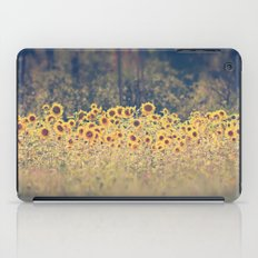 Field of Sunflowers iPad Case